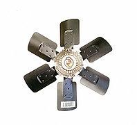 Крыльчатка вентилятора с вискомуфтой Cummins B Series 4931500, фото 1