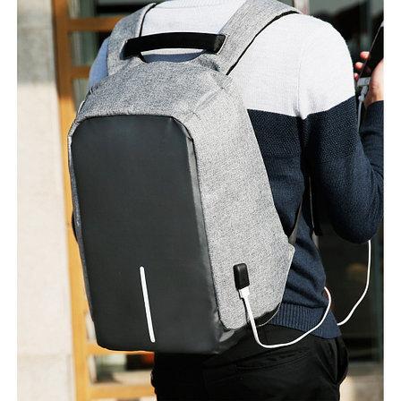 Рюкзак Антивор с USB зарядкой Теплая осень, фото 2