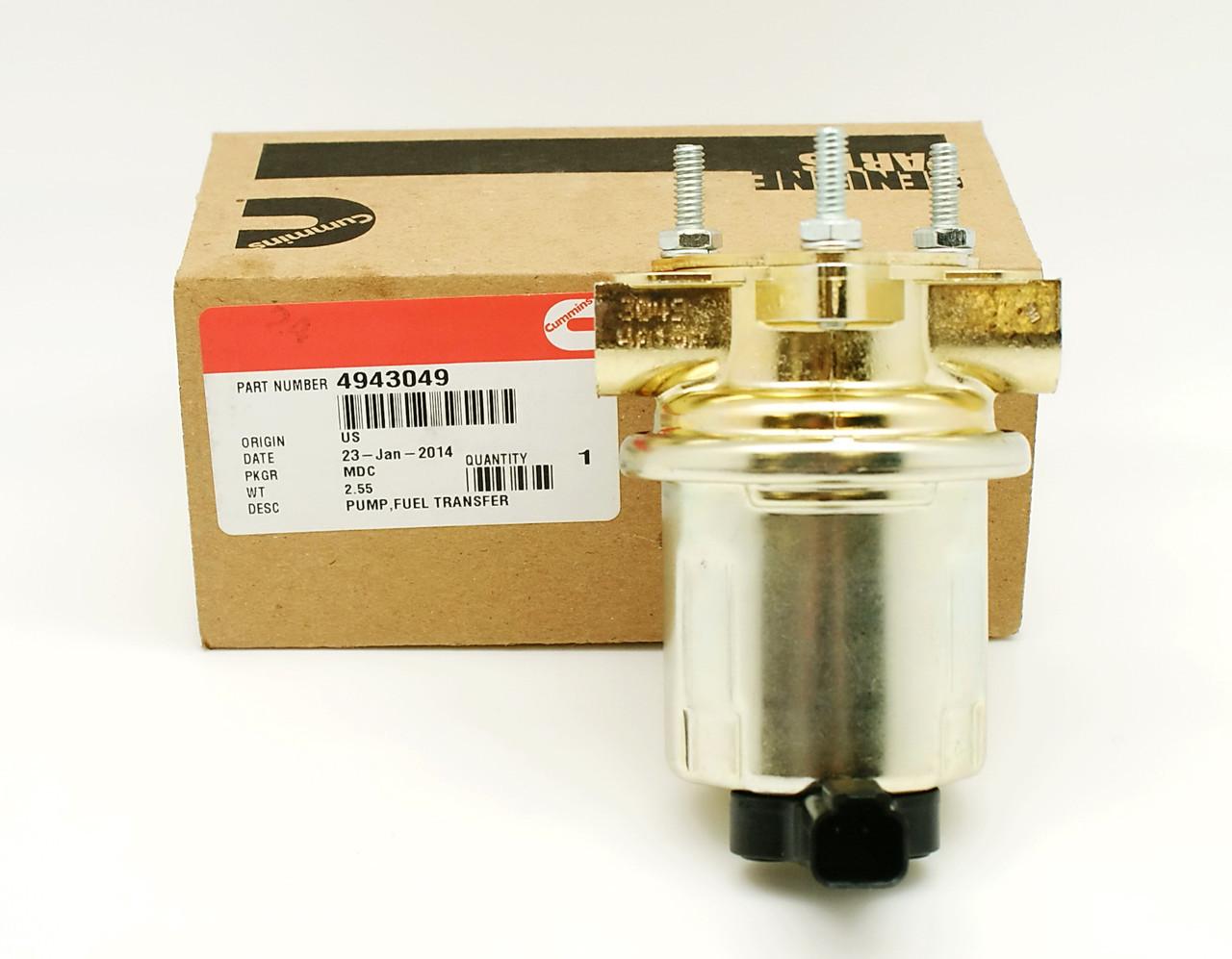Топливный насос низкого давления (24V) Cummins QSB 4943049 5362274
