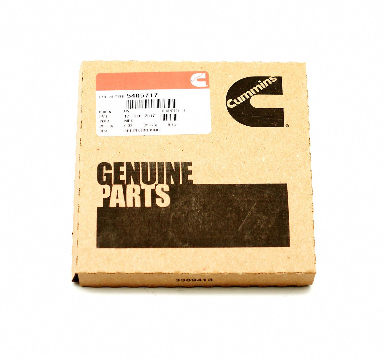 Кольца поршневые (комплект на поршень) Cummins X Series 54057174309441 4309441 2881682 4089406