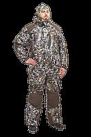 Костюм зимний Трофей / мембранное трикотажное полотно / пиксель серый, фото 1