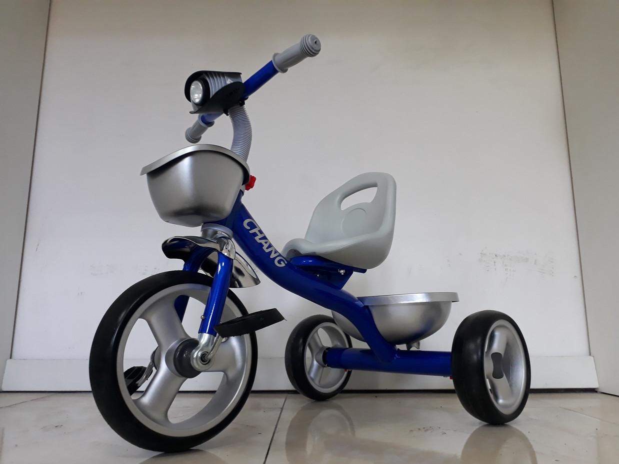 """Детский трехколесный велосипед """"Chang"""" с фонариком"""