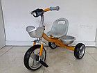 """Детский трехколесный велосипед """"Chang"""" с фонарем, фото 3"""