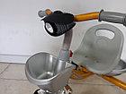 """Детский трехколесный велосипед """"Chang"""" с фонарем, фото 2"""
