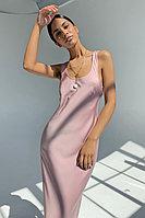 Базовая капсула: лаконичное платье-комбинация длины миди TOPTOP STUDIO