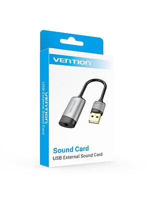 USB - звуковая карта с 15см кабелем VENTION