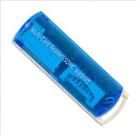Картридер ALL in 1 USB 2.0 (Blue)