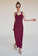 Базовая капсула: минималистичное платье миди с круглым вырезом на спине TOPTOP STUDIO