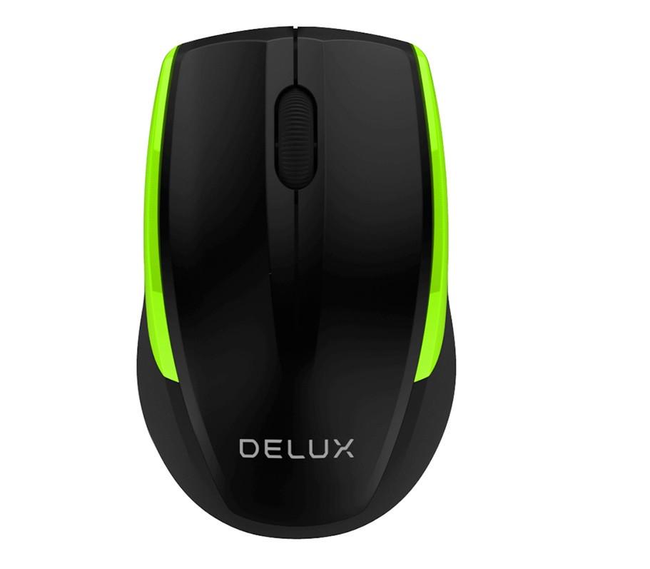 Беспроводная мышь Delux (DLM-321OGB) Черный