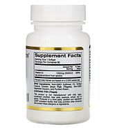 California Gold Nutrition, Витамин D3, 125 мкг (5000 МЕ), 90 рыбно-желатиновых капсул, фото 2