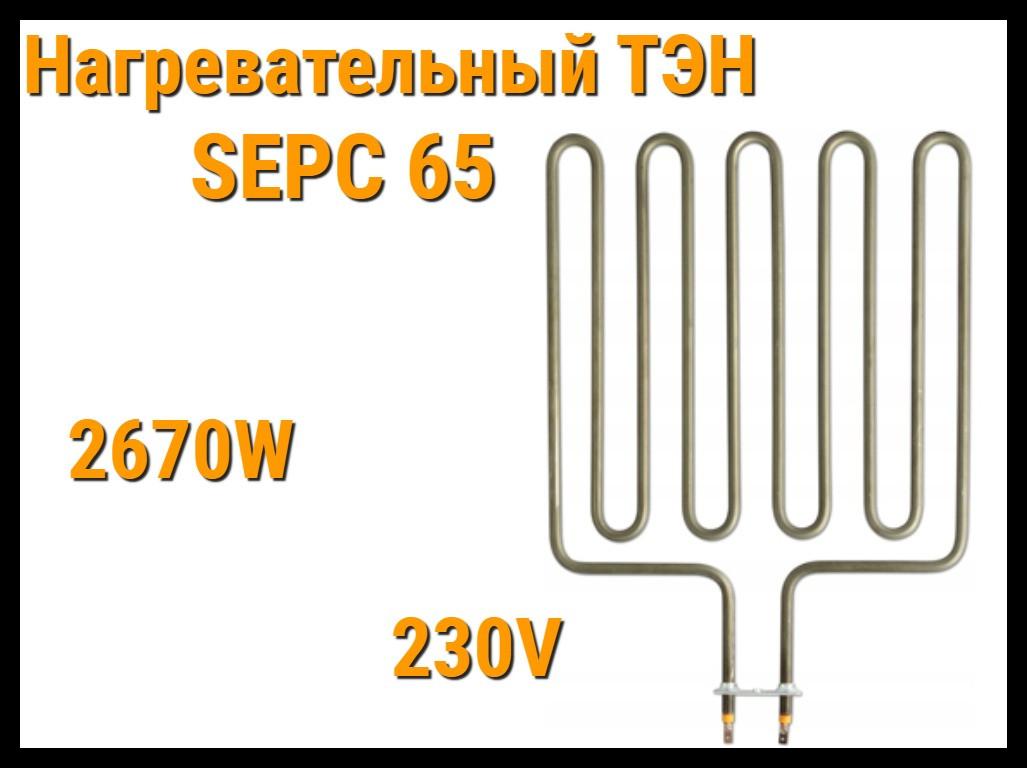 Электрический ТЭН SEPC 65 (2670W, 230V) для печей Harvia