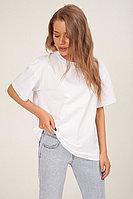 Универсальная хлопковая белая футболка TOPTOP STUDIO
