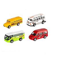 Набор автобусов 1210 метал, фото 1