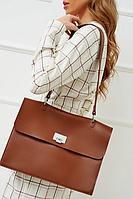 Универсальная сумка-портфель с широким плечевым ремнем H.I.T.