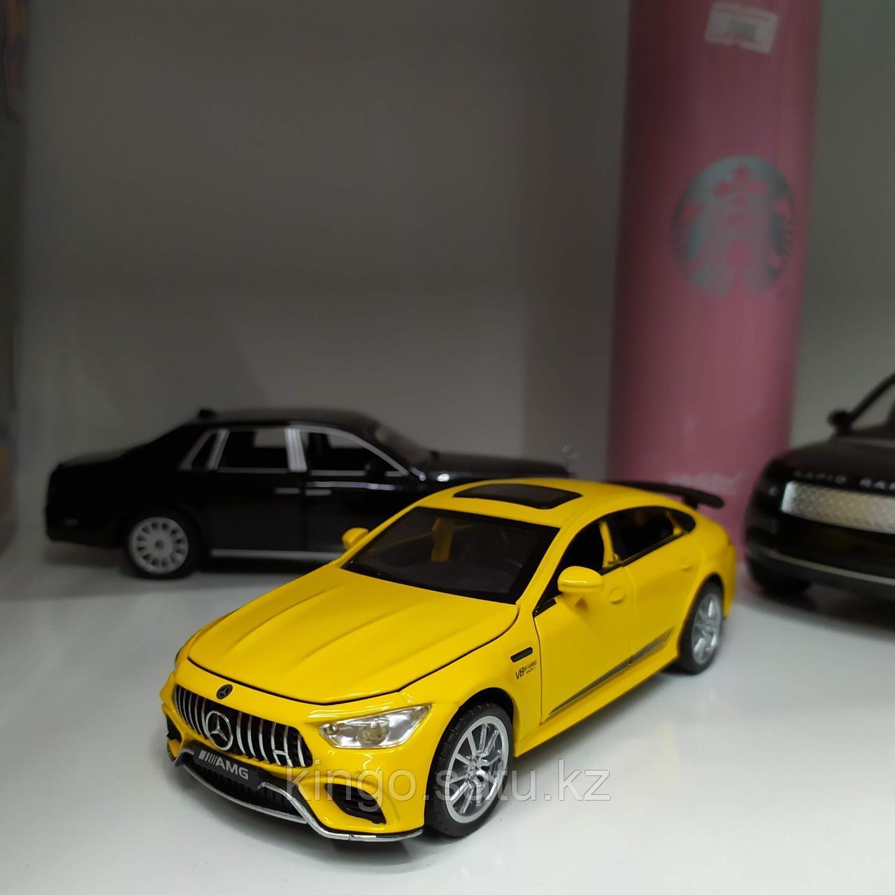 Модель машины, металлическая, Mercedes-Benz GT63 AMG