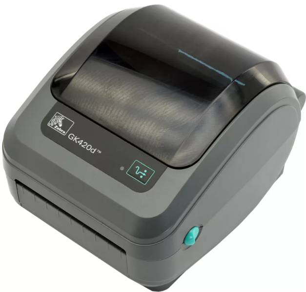 Принтер для печати этикеток термо Zebra GK420d