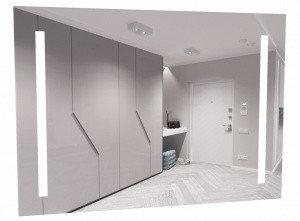 Зеркало Good Light 2-90 с подсветкой Домино, фото 2