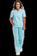 Медицинский женский костюм OPTIMAL мятный