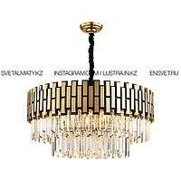 Современная роскошная хрустальная люстра на 9 ламп D600