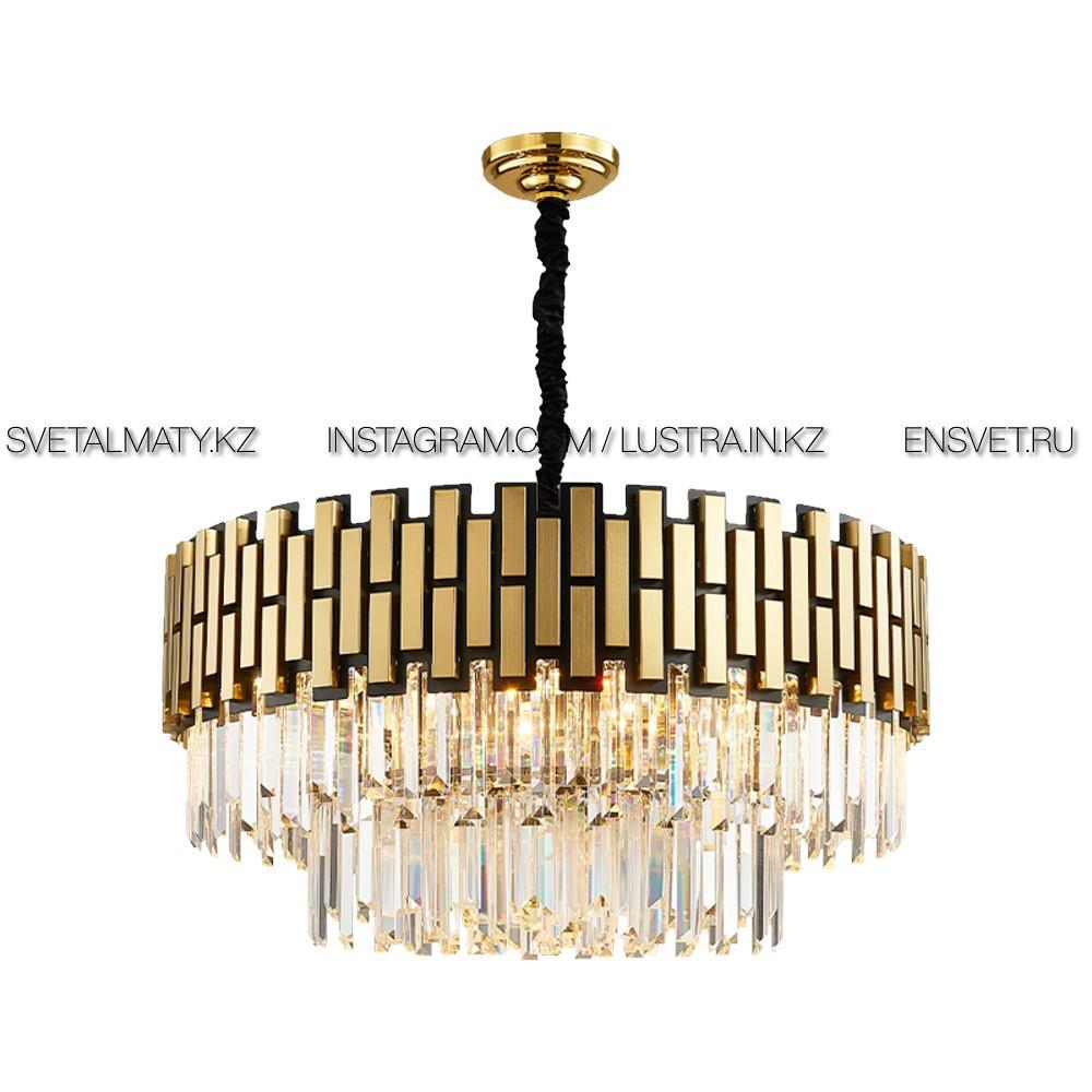 Современная роскошная хрустальная люстра на 15 ламп D800