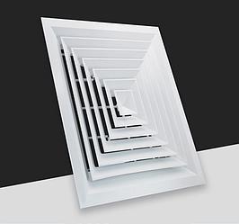 Диффузор квадратный 225х225 (FK003/A)