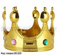 Королевская корона с камнями  (аксессуар для карнавала)