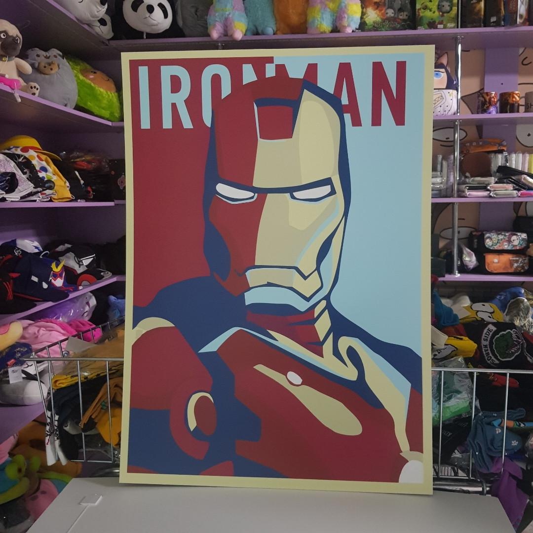 Постер Железный человек - Iron man