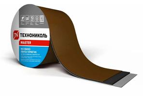 Лента 3 м х 10 см самоклеющаяся Nicoband Коричневый