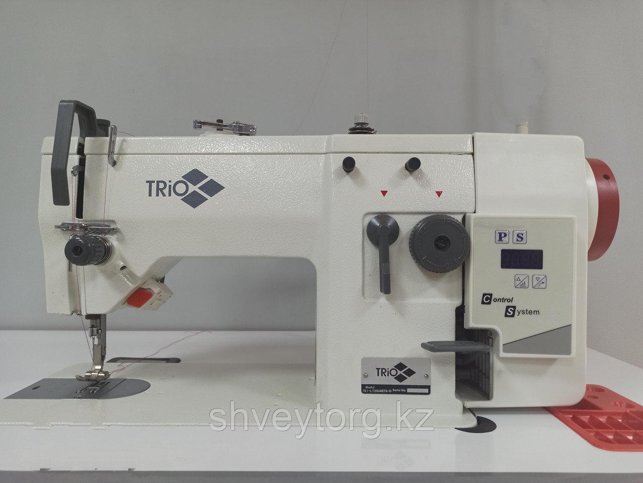 Промышленная одноигольная  швейная машина строчки ЗИГЗАГ TRIO TRI-LT 20U457A-D