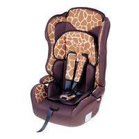 Автокресло-бустер Multi, группа 1-2-3, цвет коричневый 'Жираф'