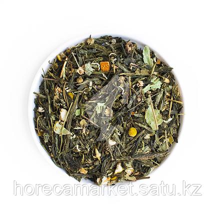 Зеленый чай Японская Липа 100гр, фото 2