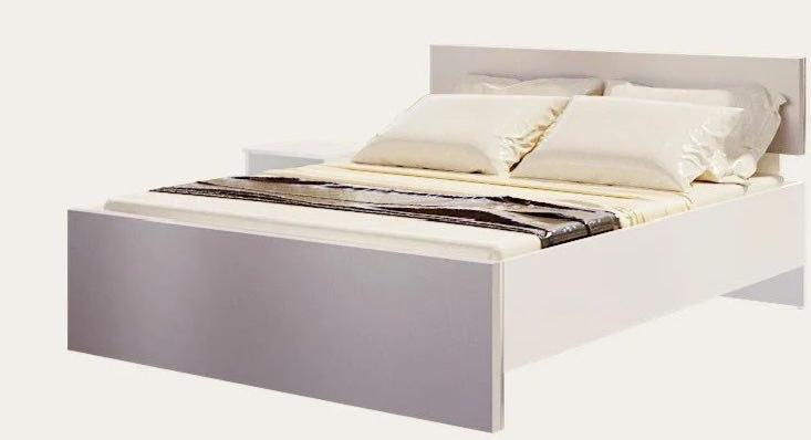 Кровать Медина Алюминий, фото 2