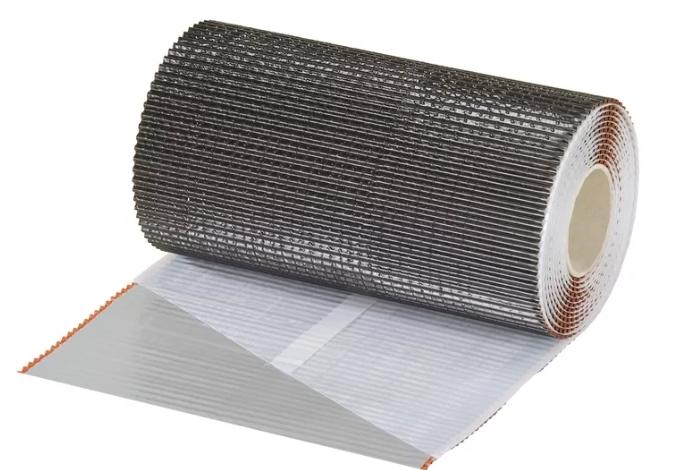 Гофрированная лента 5 м для примыканий Технониколь Nicoflex коричневая