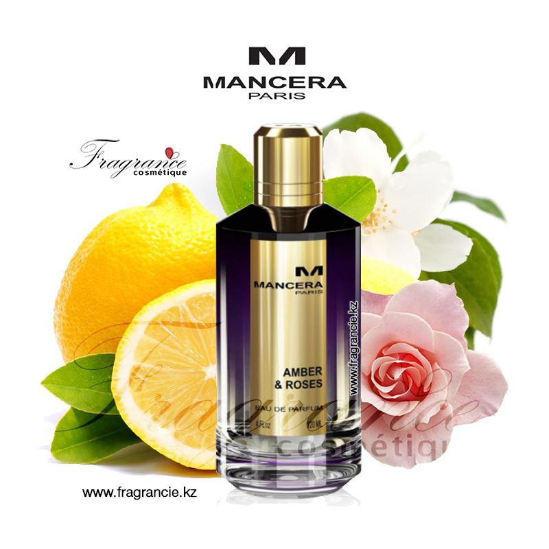 Парфюм Mancera Amber & Roses 120ml (Оригинал-Франция)
