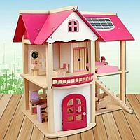 Деревянный кукольный дом Bambi MD 1068