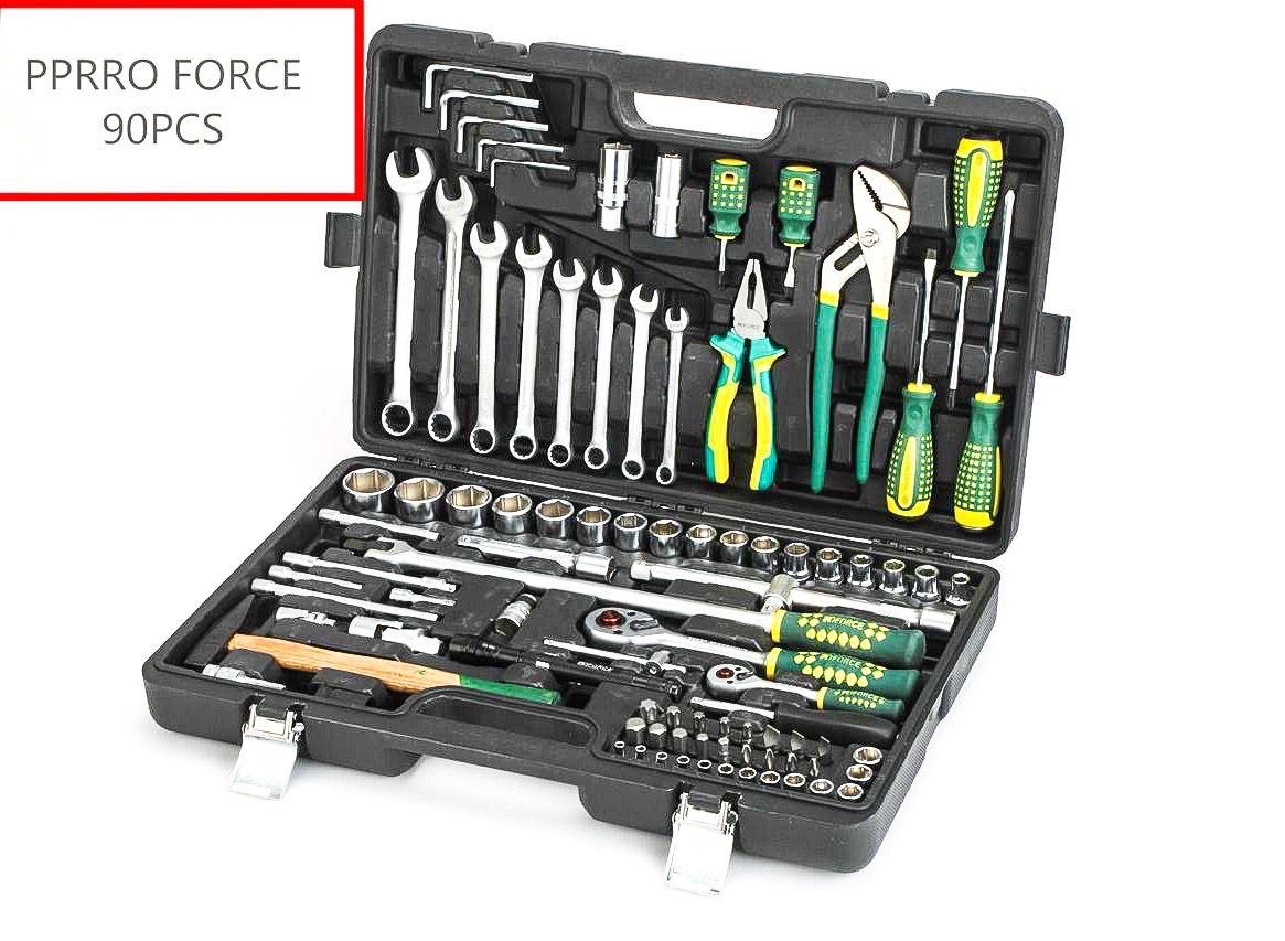 Набор инструментов PPRRO FORCE 90 предметов