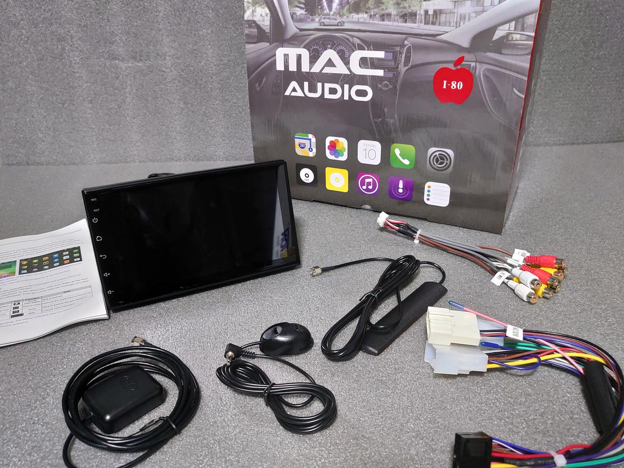 Штатная магнитола Toyota Hilux 2010-2016 Mac Audio ANDROID
