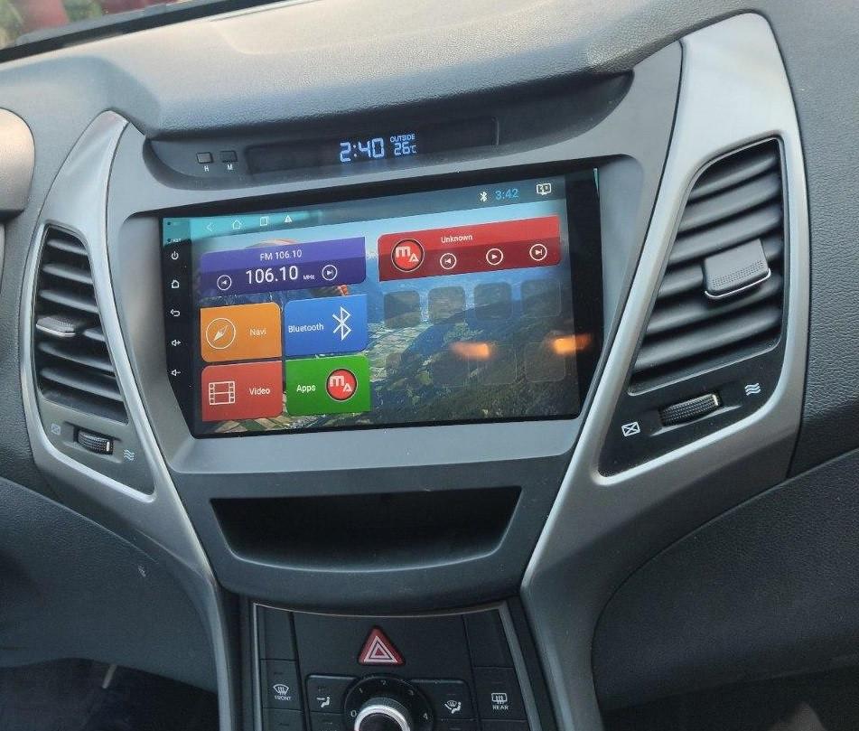 Штатная магнитола Mac Audio Hyundai Elantra ANDROID