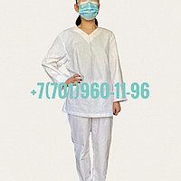 Пижама для медработников из ХБ (хлопчатобумажной) ткани