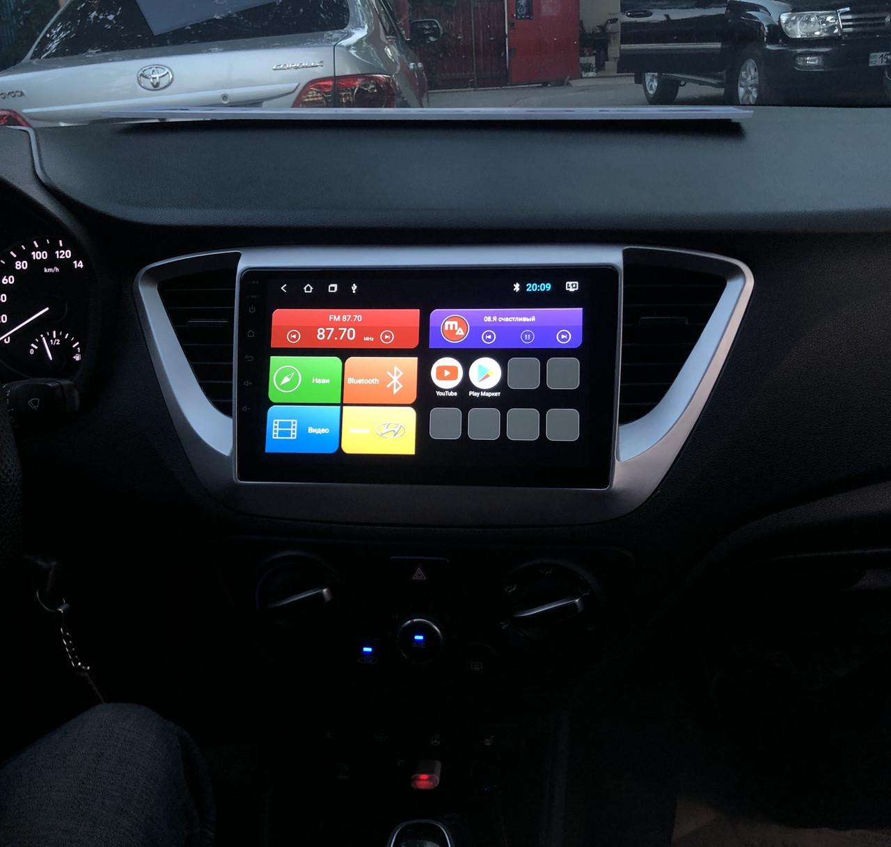 Магнитола для Hyundai Accent Solaris 2020 Mac Audio