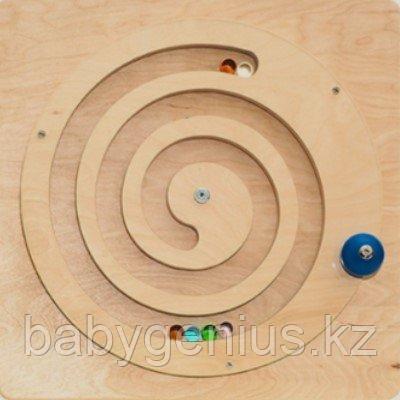"""Тактильно-развивающая панель """"Лабиринт-колесо"""", фото 2"""