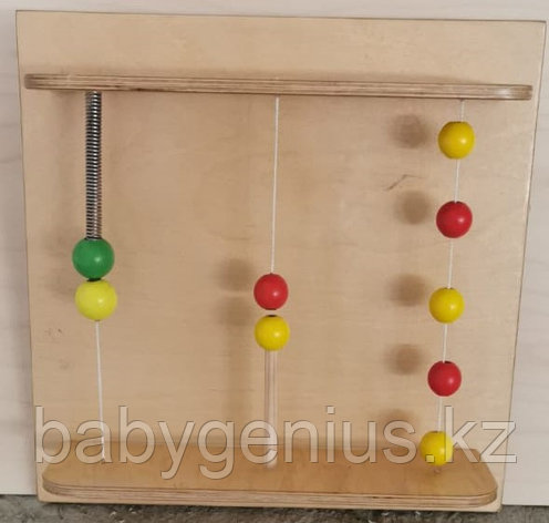 """Тактильно-развивающая панель """"Магнитные шарики"""", фото 2"""