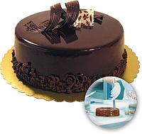 Шоколадное желе