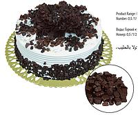 Шоколадная посыпка - Парча