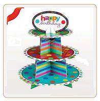 """Подставка для кексов """"Праздник"""" или День Рождения"""