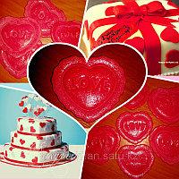 Сердечки на торт (съедобные!)