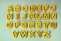 Вырубки буквы-алфавит для мастики