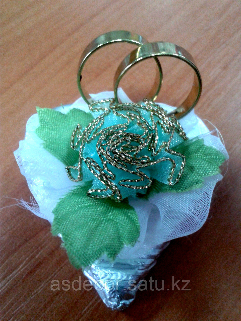 Шоколадные Бонбоньерки на свадьбу с кольцом. - фото 3