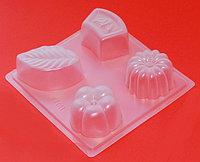 Пластиковая форма для желе и шоколада