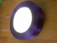 Атласная лента фиолетовая, 2 см